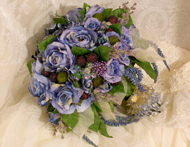 Eileen Williams bridal bouquets