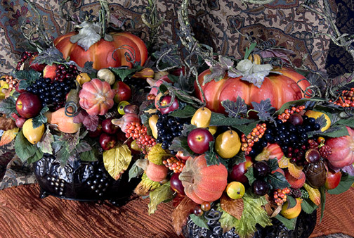 Autumn Centerpiece by Eileen Williams